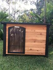 Pet Dog Kennel Somerzby XL outdoor wooden puppy house