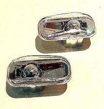 HONDA JAZZ CIVIC CR-V CITY NEW SIDE INDICATOR REPEATERS - PAIR CLEAR LEFT+RIGHT