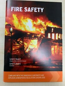 Fire Safety Level 2 Award Book FREE DELIVERY
