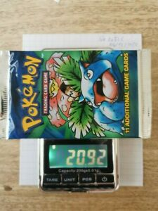 Base Set Booster Pack 1999 Pokemon sealed Venusaur WOTC English 20.92g