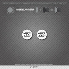6103 - Zullo Bicycle Handlebar Bar End Plug Stickers - Decals