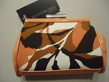 Ladies Kenneth Cole New York Coin Purse,Floral/Coral