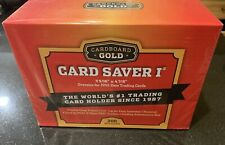 Cardboard Gold Semi Rigid Card Holder for PSA/BGS Graded Submissions - 200 Pack