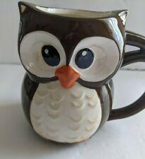 New listing Ceramic Owl Shaped Coffee Tea Mug Cup