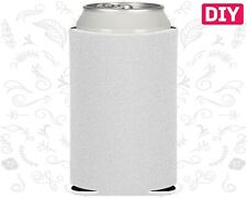 Blank Koozies 25 White Coozies Lot Can Coolers Diy Embroidery Sublimation