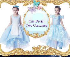 *Sale*One Dress two Costums Disney Princess Cinderella 7 years