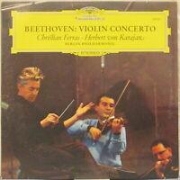 BEETHOVEN Violin Concerto LP w/Christian Ferras, Berlin Philharmonic,von Karajan