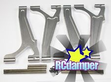 ALUMINUM FRONT & REAR UPPER ARM S TEAM LOSI 1/8 LST 1 AFTERSHOCK RAMINATOR AFT