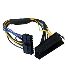 """For Hp Z420/Z620 Workstations 11"""" 24-Pin to 18-Pin Atx Power Supply Adapter Dj"""