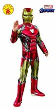 Marvel Avengers 4 Big Boys' Deluxe Iron Man Costume & Mask (Small)