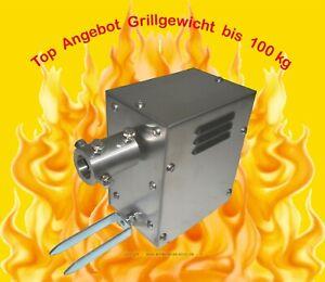 Grillmotor 230V AC Wechselstr. Getriebemotor 2,1 U/min, Drehmoment ca.30 Nm