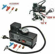 Compressore portatile 12V 220V.Gonfia Ruote,ruota,aria,casa,auto,moto.Gonfiare