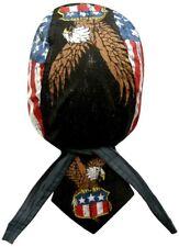 Vintage Distressed Flag Eagle Sweatband Doo Rag Headwrap Capsmith Danbanna Durag