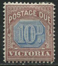 Victoria QV 1890 10d Postage Due mint o.g.