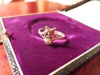 Super Süßer 925 Silber Ring Daisy Duck Ente Sterling Figur Zierlich Wie Disney
