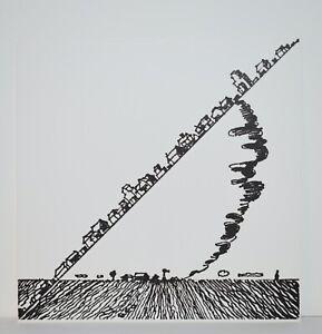 Listed American Artist Joe Zucker, Print Engraving MOMA 1976