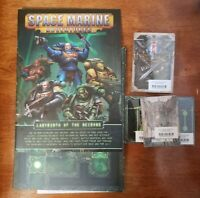 Warhammer 40k Space Marine Adventures Necrons Boardgame Rules - No Miniatures
