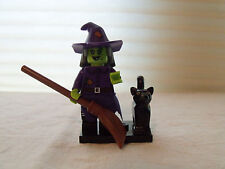 LEGO Minifigure Monster Series 14 Wicked Witch *NEW* w/ Broom & Cat Animal