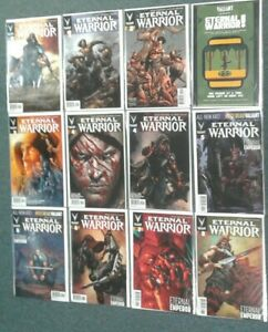 Eternal Warrior #1-8 +More! Valiant Comics Complete Set! VF-NM 8.0-9.0 or Better