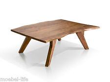 GERA II Couchtisch Baumkantentisch Wohnzimmertisch Tisch Akazie massiv 120x80 cm