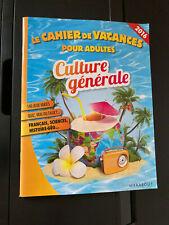Le Cahier de Vacances pour Adultes Culture Generale French Puzzles