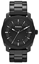 Fossil Watch * FS4775 Machine Knurled Bezel All Black Stainless Steel COD PayPal