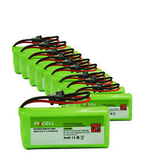 10pcs AAA*2 800mAh 2.4V Cordless Phone Battery for Uniden BT-1008 BT-1021 PKCELL