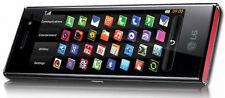 LG BL40 New Chocolate Schwarz Rot Touch Handy Smartphone Neu vom Händler BL 40