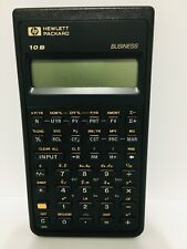 Hp 10b Business Calculator with Cover Vintage 1987
