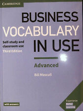 Cambridge BUSINESS VOCABULARY IN USE ADVANCED Third Edition with answers @NEW@