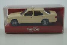 Herpa Voiture Miniature 1:87 h0 Mercedes-Benz e320 TAXI Nº 042284