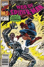 Web of Spider-man #80  NM-