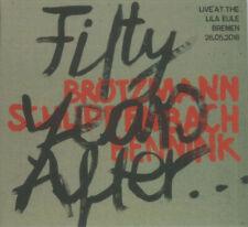 Peter Brotzmann / Alex Von Schlippenbach / Han Bennink - Fifty Years After - CD