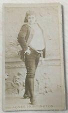 1886 Kinney Beauties, AGNES HUNTINGTON. Tobacco card, Sweet Caporal back.
