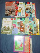 25 I CAN READ Books for BOYS Most Levels 1 & 2 - Star Wars, Disney Cars, Sharks+