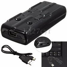 Mic 3D Virtual 7.1 Channel Audio USB External Sound Card Adapter For Laptop PC