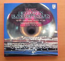Philips 6770 047 Mozart Wind Serenades Edo De Waart 2xLP NEAR MINT + booklet