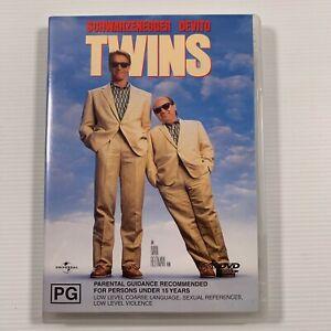 Twins (DVD 2002) 1998 movie Danny Devito Arnold Schwarzenegger Region 4