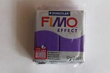 Fimo Modelliermasse FIMO® soft, Effekt glitter lila