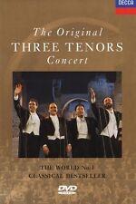 Carreras/Domingo/Pavarotti/Mehta-The Original Three Tenors Concert DVD NUOVO