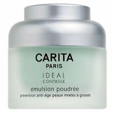 Carita Ideal Control Powder Emulsion 50ml + FREE Hydrea Bamboo Round Body Brush
