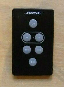 Genuine Bose Black SoundDock Series 1 Remote Control A1 Excellent  No Battery