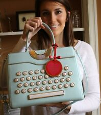 Kate Spade Be Mine Typewriter Satchel Bag Holiday 1016 Collection Limited Ed