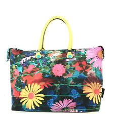 BORSA GABS STUDIO KATIA L SHOPPING TRASFORMABILE 2 IN 1 STAMPA FIORI MULTICOLOR