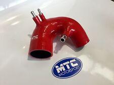 MTC Motorsport Fiat 500 Abarth T-Jet manguera ingesta de Silicona Rojo