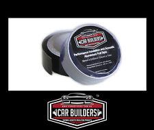 Black foil tape for sound deadener, suits dynamat carbuilders dampening mat