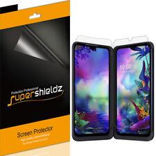 3X Supershieldz Clear Screen Protector for LG G8X ThinQ (3 Main + 3 Dual Screen)