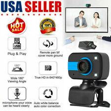 HD Webcam USB Digital Cam Web Camera with Microphone For PC Laptop Desktop Video