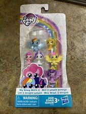 """My Little Pony My Baby Mane 6 Mini Figures 1"""" NEW"""