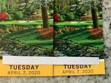 2 MASTERS Augusta 2020 Ticket TUESDAY Badge 11/10 TUESDAY Full Day IN HAND